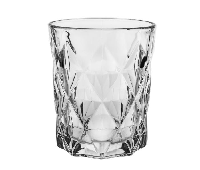 10oz 310ml transparent whiskey drinking glass cup engraved diamond cutting desgin glass cup wine serving glass for bar using