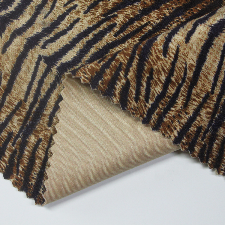 wholesale polyester 3mm 100% polyester suede fabric woven polyester fabric suede leather fabric