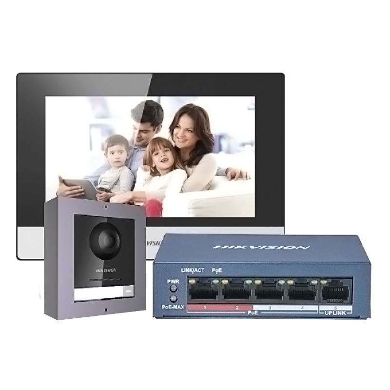 Smartyhik — système d'interphone à Vision OEM, visiophone, interphone vidéo DS-KIS602 IP