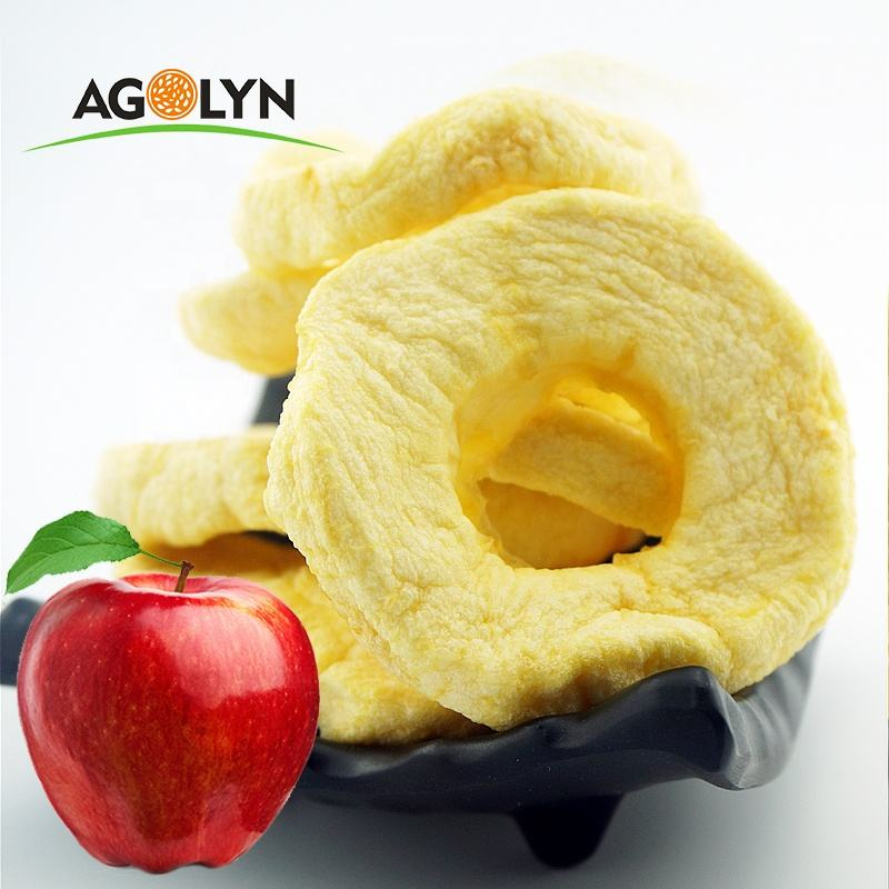 Chinese Factory Hot Sale Dried Apple Chips Crisp Dried Fruits Chips