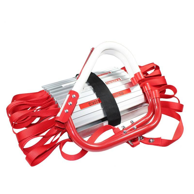 fire resistance fire escape ladder high building escape firefighting extension Ladder