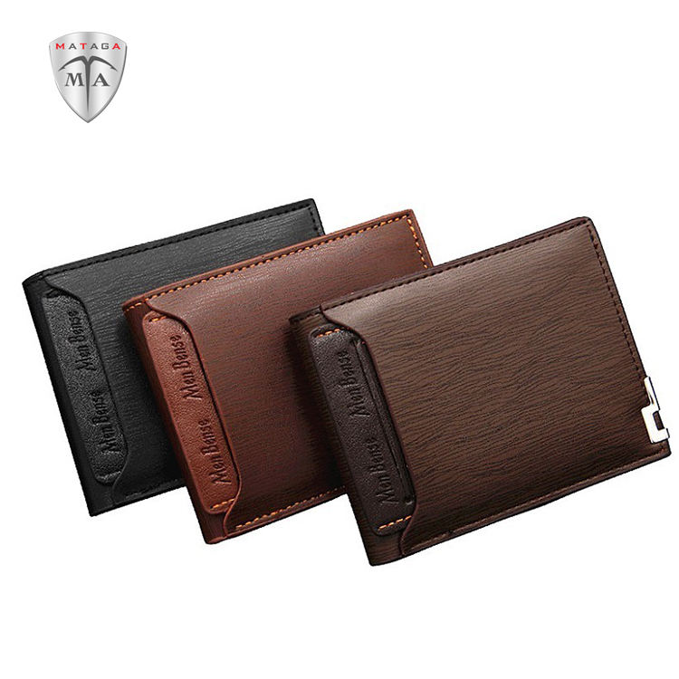 MTA PU New Multi-functional Fashion Casual Wallet For Men