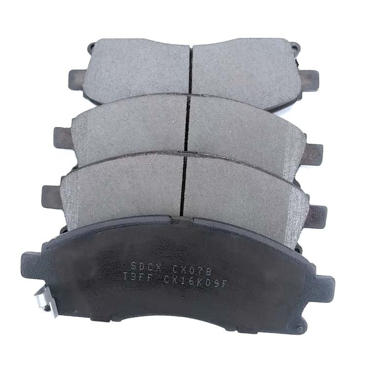 Promotions Size China Factory Best Quality Model Number CX078 Brake Pad for Foton Tunland 2010 2012