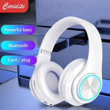 Caridite Best Sell Wireless Headband Earbud Sport Wilress Stereo Headset Foldable Deep Bass OEM Bluetooth Earphone Headphone