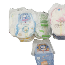 Low price high quality cheap B grade baby diaper