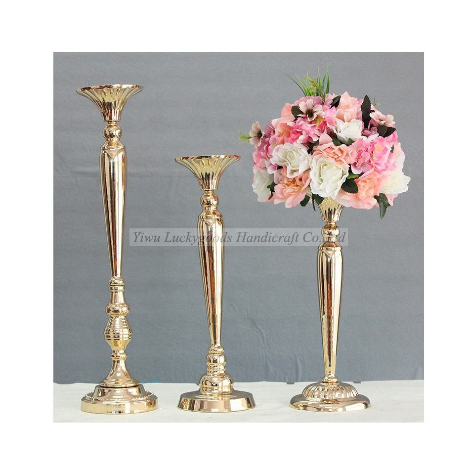 LDJ582 elegant event party table flower display stand