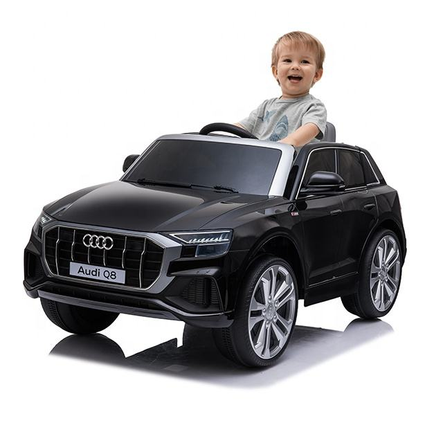 Licensed Q8 Audi toy cars for kids to drive kids ride on remote control power car electric ride on car for kids