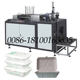 Paper Machine Fine Good Quality Fast Take Away Food Pe Coated Oil Water Proof Embossed Paper Lunch Box Machine Price