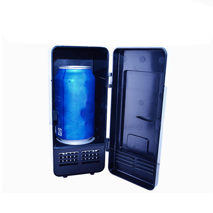Popular 0.5L Mini Cooler Warmer Box car 12v cans refrigerator portable mini car fridge for sale