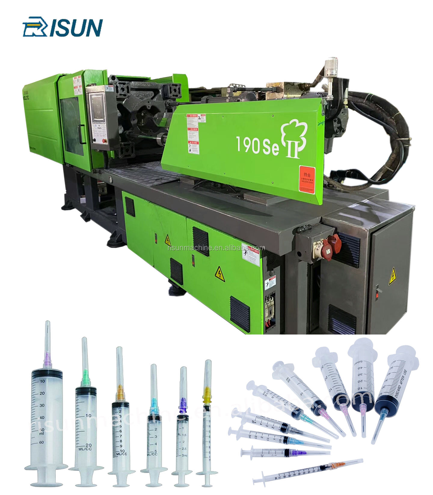 Donghua 190se II Medical disposable syringe making machine price/ injection molding machine and injection mould complete line