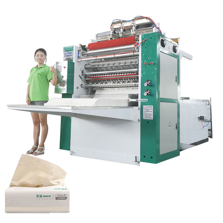 High Quality Interfold Facial Tissue Paper Processing Machine Cutting Machine Packing Machine Price