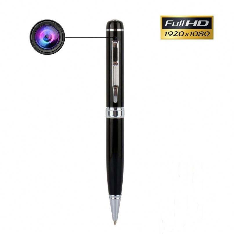 Mini HD 1080P Không Dây CCTV Video Hidden Spy Pen Camera