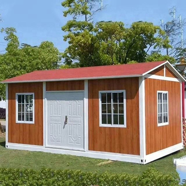 Chinese High Quality Shipping Container Home 40 Feet Luxury Prefabricated Flat Pack Container House with bathroom