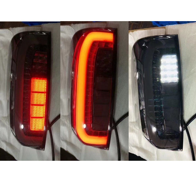 2015-2019 Replacement Easy Install Tail Light White Amber Led ABS Tail Lamp For Navara NP300 Tail Led For Car Parts