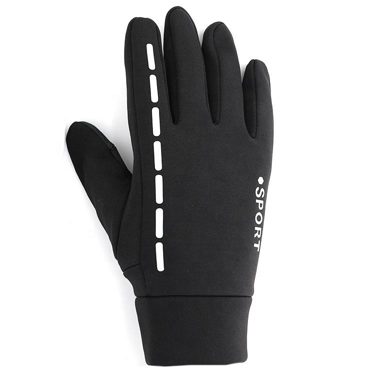 Bike Bicycle Windproof Warm Winter Hand Warm Thermal Anti-Shock Padded Waterproof Mountain Climbing Riding Gloves