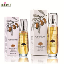 Professional argan oil hair serum customization manufacture for hair extention company