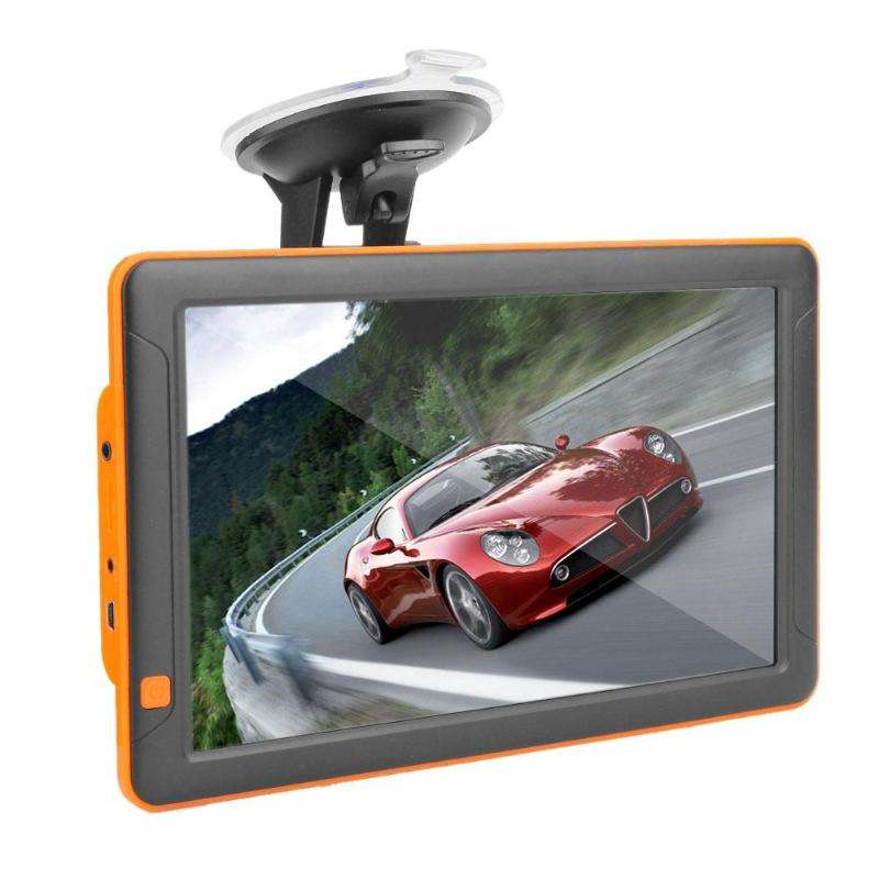 9 inch dash cam Touch screen car gps navigation Alarm Lifetime Map Truck gps navigation System for Trucks
