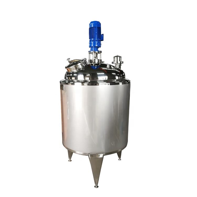 liquid mixing tank with agitator chemical blending tank agitator tank jacketed mixing vessel
