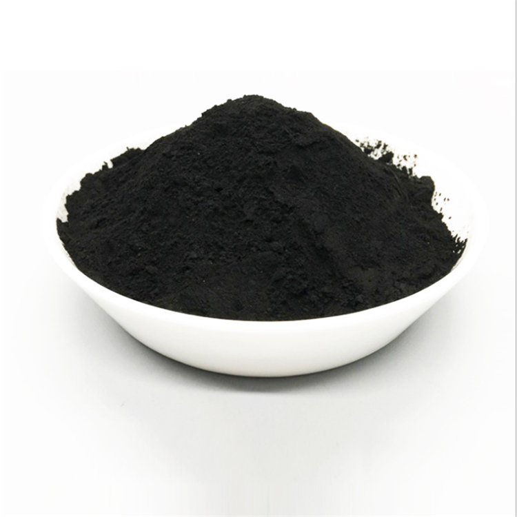 Carbon black powder pigment for enamel pot/cookware