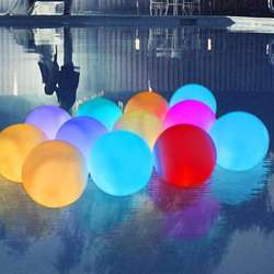 Waterproof Floating Led Pool Balls