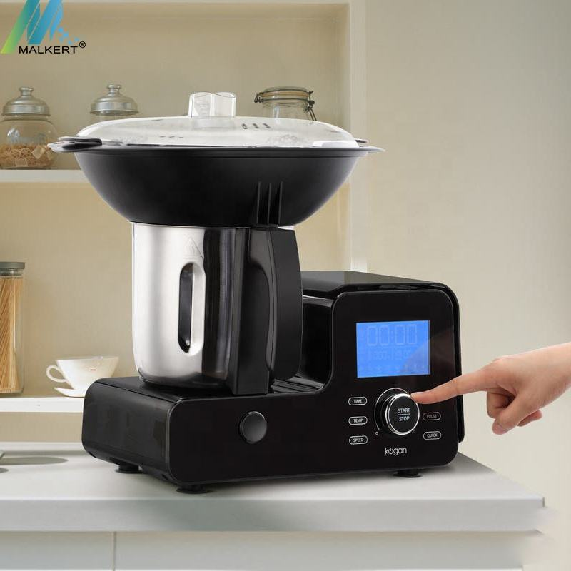 MALKERT Promotion Thermo Cooker Machine Kitchen Supply Food Processor Blending Steaming Cooking Thermomixer Processor