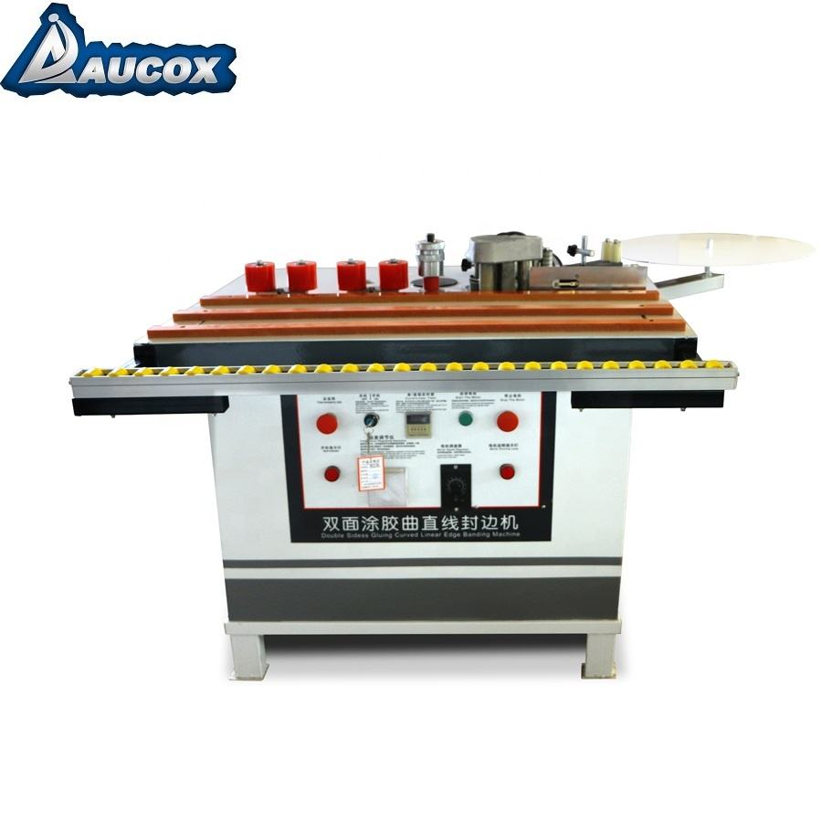 MY-08 Manual woodworking Edge Banding Machine use for Curve and straight wood double sided glue