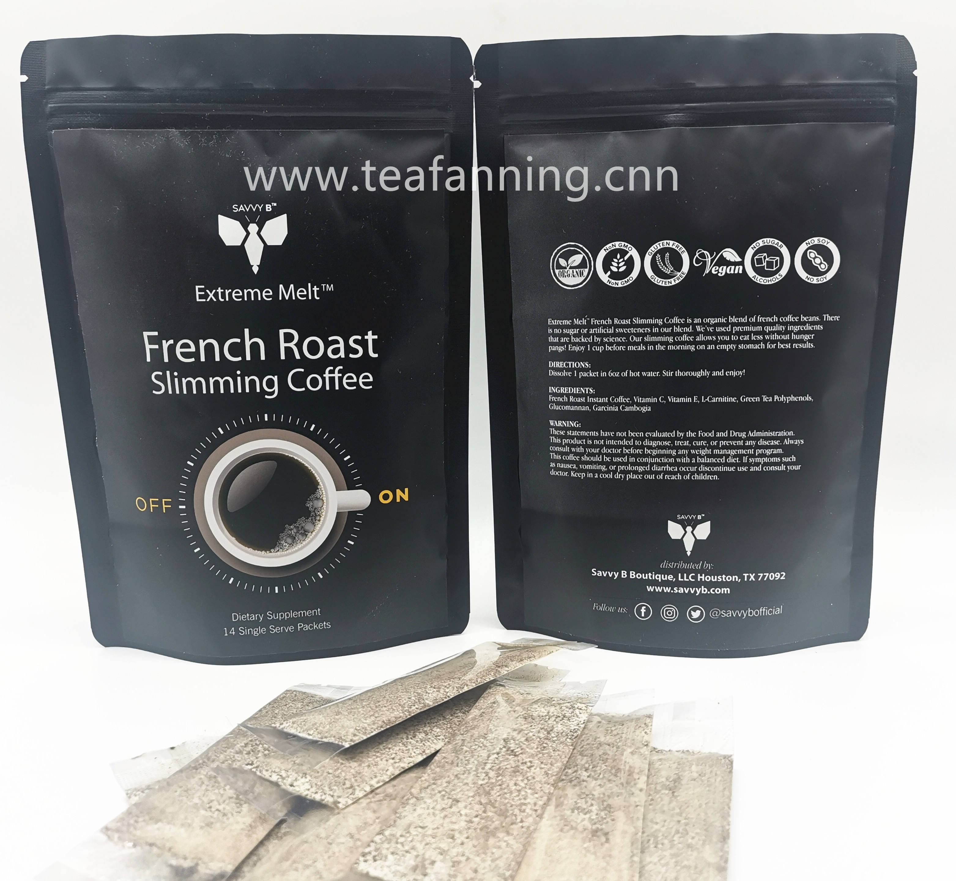 Organic Slimming instant Coffee for body weight loss