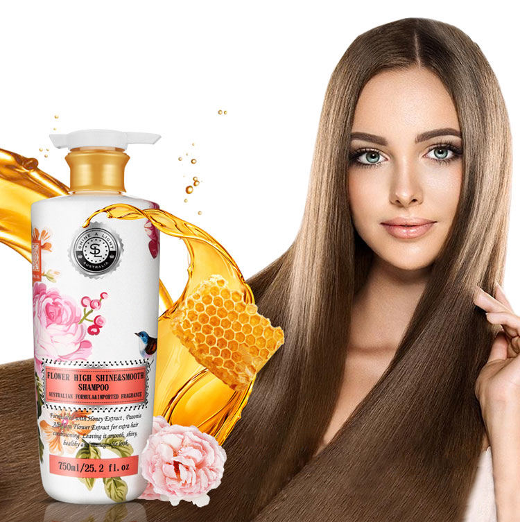 cash sale 750 ml shampoing for all hair types Bulgarian Rose shampoo