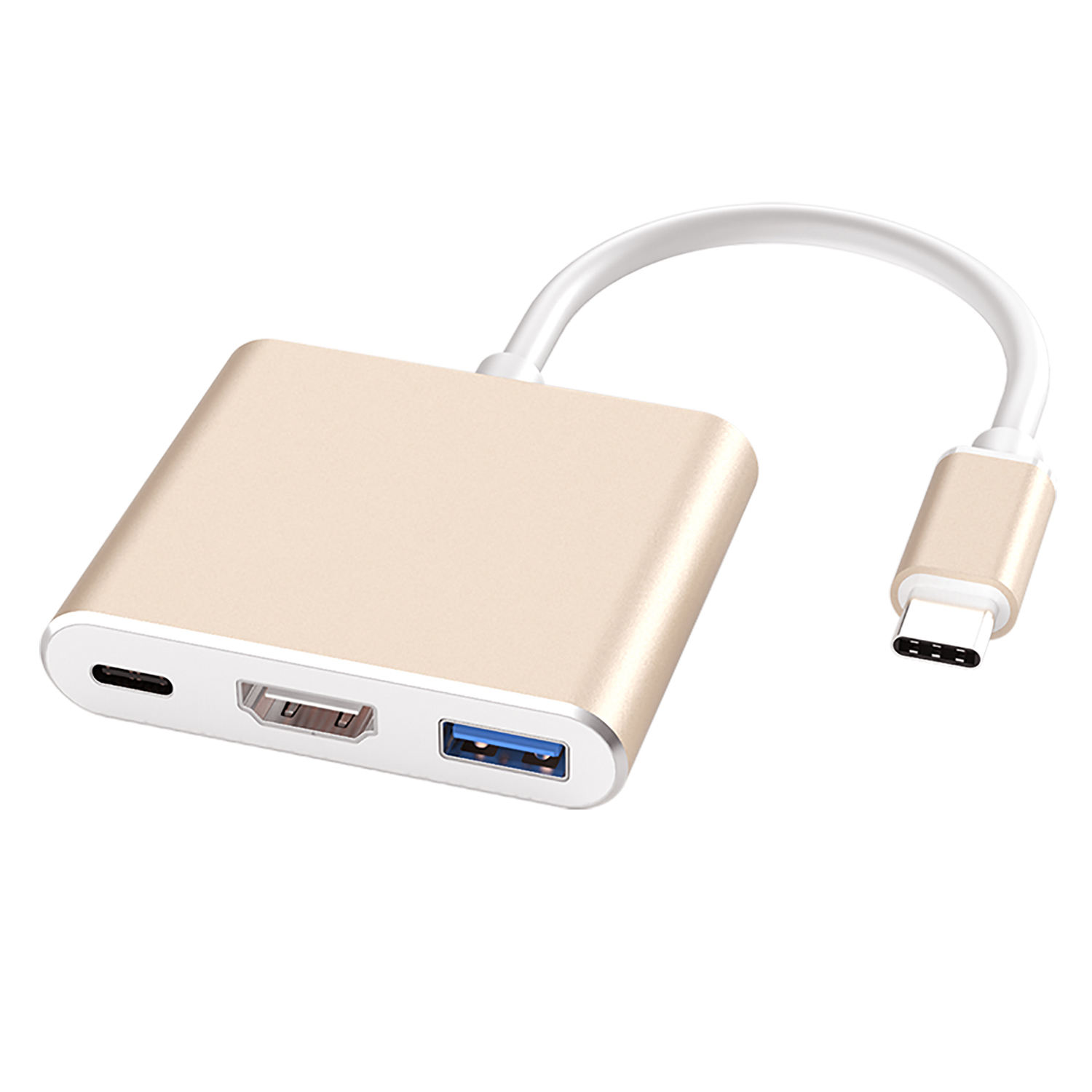 3 in <span class=keywords><strong>1</strong></span> Typ-C ZU <span class=keywords><strong>HDMI</strong></span> + PD + USB 3,0 gute qualität adapter für huawei mate, rot Mi, Samsung