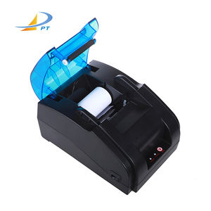 The upgraded 58mm mini pos Bluetooth thermal printer for desktop receipt printing