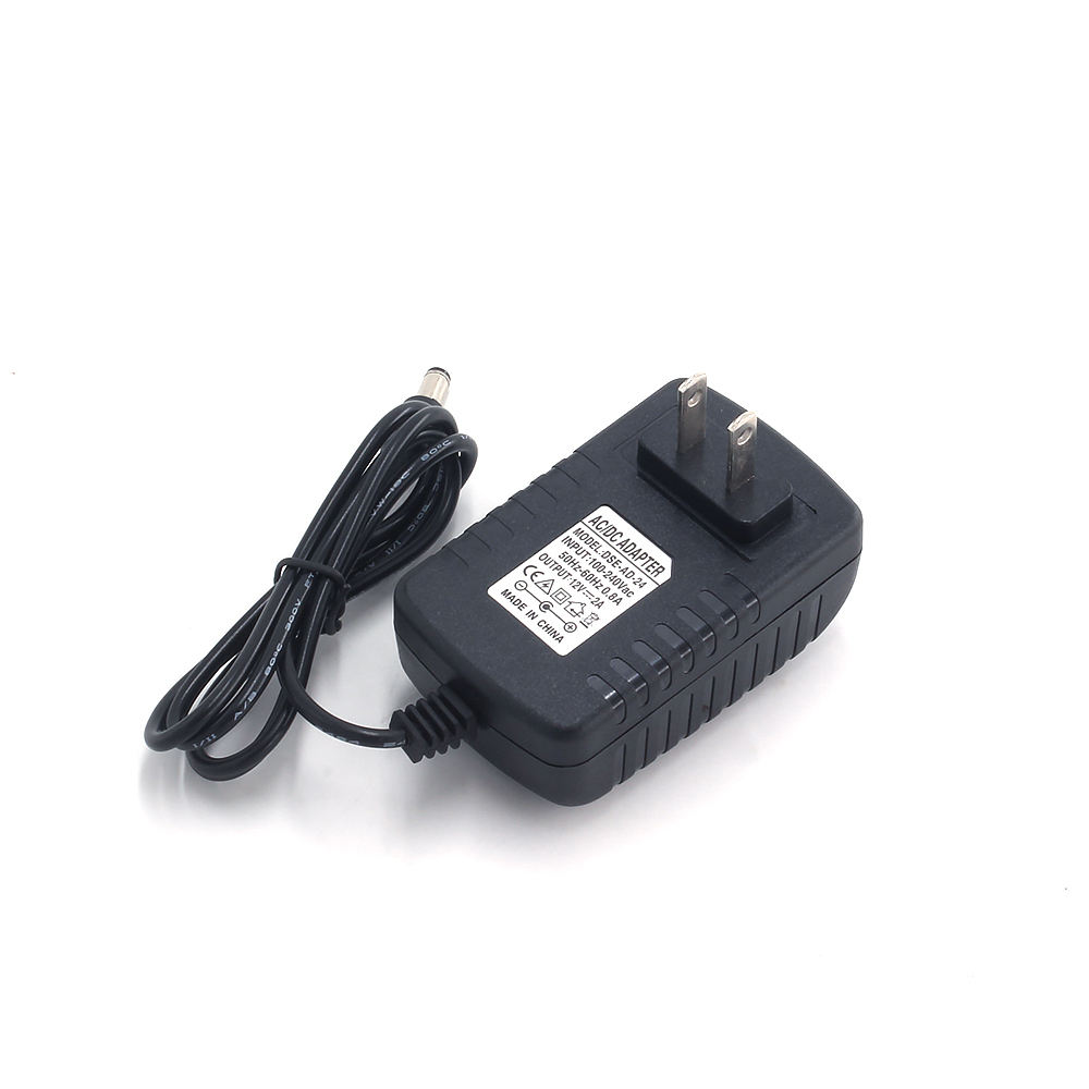 DC EU 9 V/12 V/24 V 1A 2A AC/DC 24 W 12 V 2000mA Power Supply 12 V ยุโรป