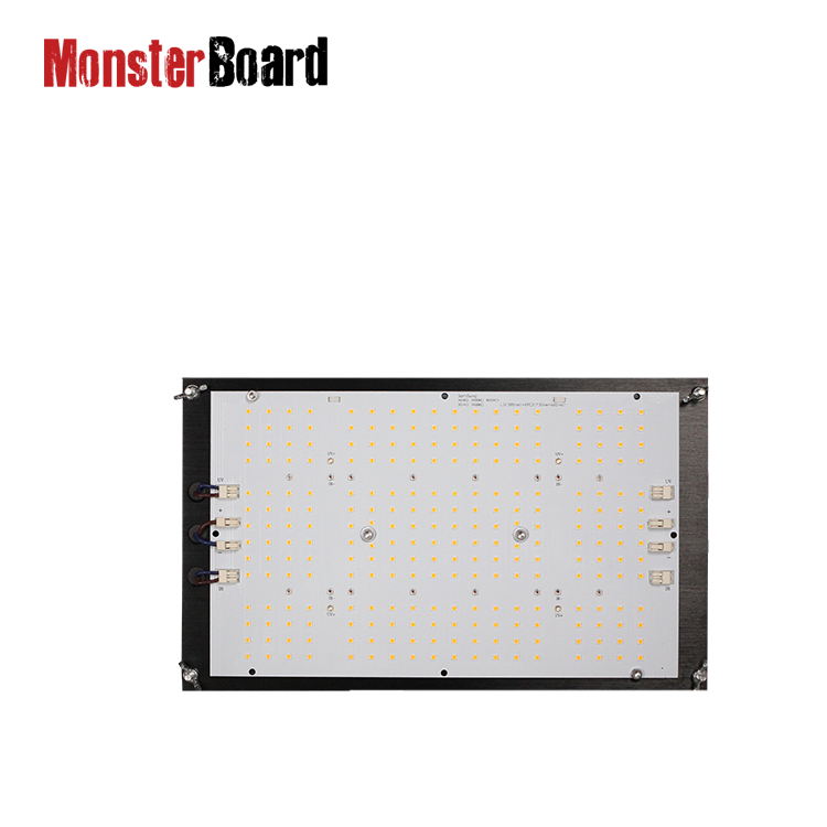 Hot selling dimmable 120 watt grow light plant light lm301h cree 660nm+ LG 395nm uv +cree 730nm ir monster board v4 plus