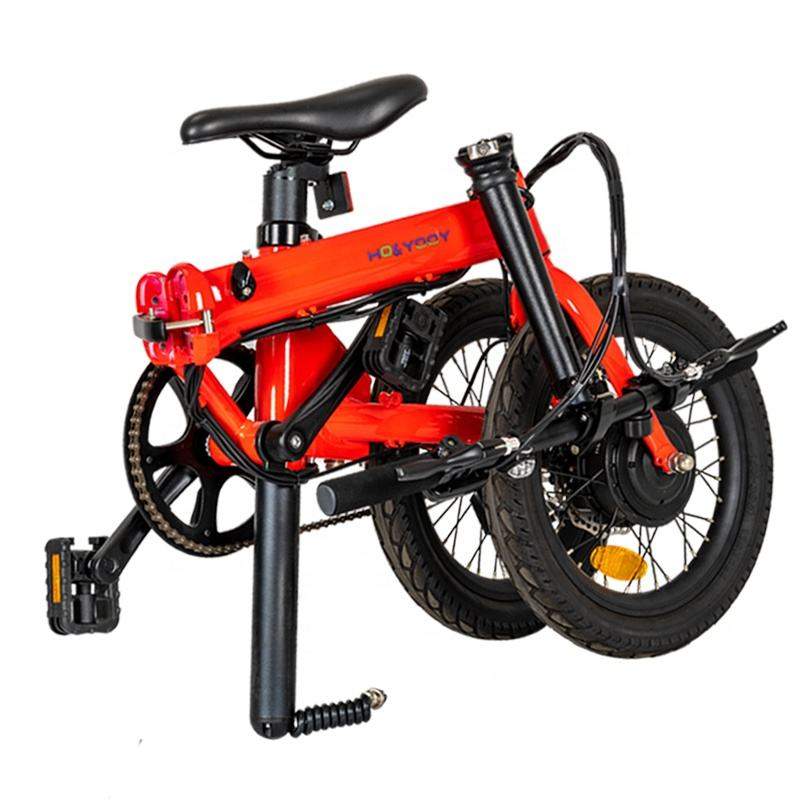 Super power 16 inch mini velo elektro electric bike made in china with LCD display for foldable e-bike riders