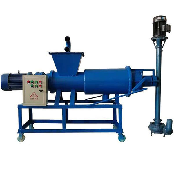 Animal Waste Cow Pig Manure Dewatering Machine