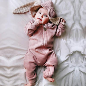 Children's Wear Autumn Baby Cute Rabbit Jumpsuit Romper Snuggle Bunny Suit Infant Girl Boy Jumpers Kids Baby Outfits Clothes