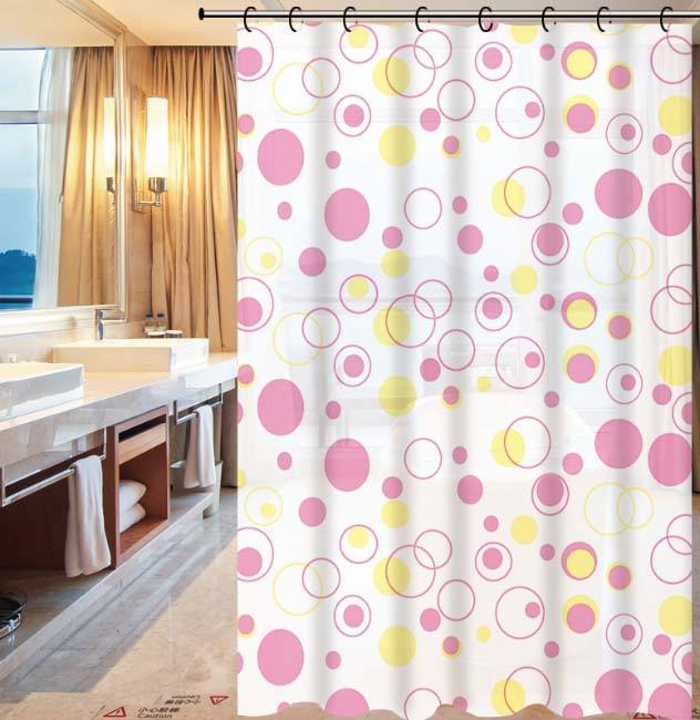 Bath curtain/ Heavy Duty 100% PEVA Bath Curtain/Solid Color Private Plastic Shower Curtain