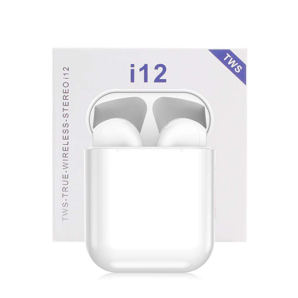 factory high quality 5.0 wireless earphones i12 tws