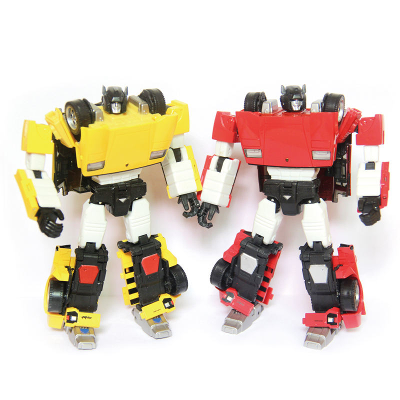 Aanpassen Kids Cartoon Anime Action Figure Transformeren Plastic <span class=keywords><strong>Auto</strong></span> Vervorming Speelgoed <span class=keywords><strong>Robots</strong></span>