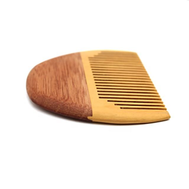 Handmade Anti-Static Pocket Comb Beard and Mustache Comb