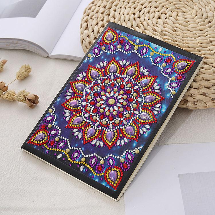 DIY especial-<span class=keywords><strong>pintura</strong></span> de diamante em forma de bloco de notas caderno artesanal pacote de material decorativo