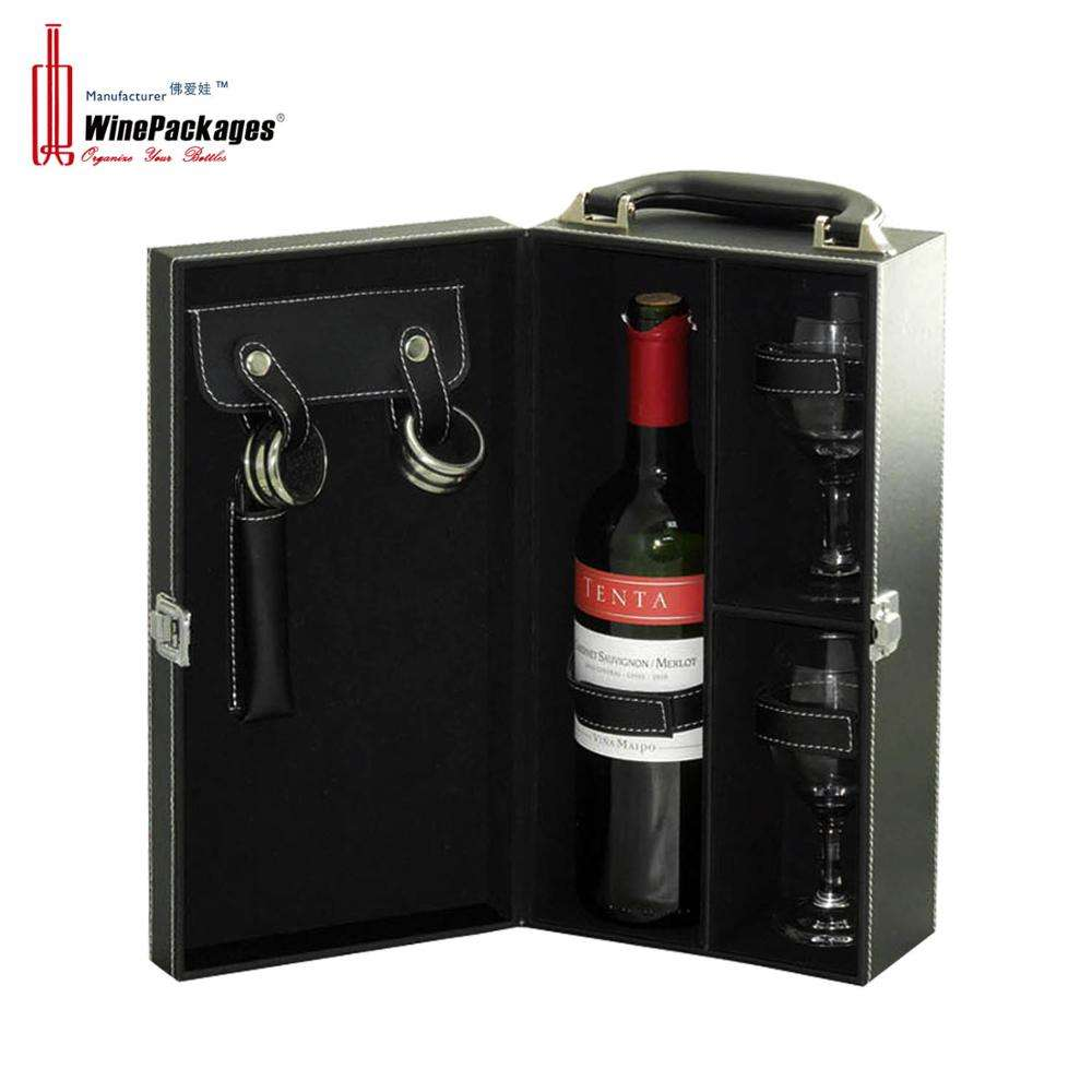Black Drawer Paper Belt Box Storage Wine Box Cardboard For Boxes Wine With Customized Logo