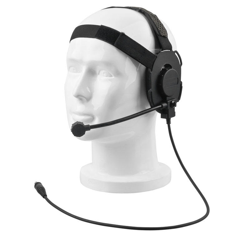 Casque tactique Bowman <span class=keywords><strong>Elite</strong></span> II casque militaire pour Kenwood 2 broches