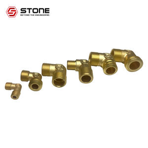 DN8mm-DN50mm hot forging parts fitting elbow brass plumbing fittings