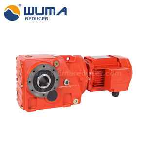 0.12~160KW Speed Reducer Heli-bevel Motor Gearbox