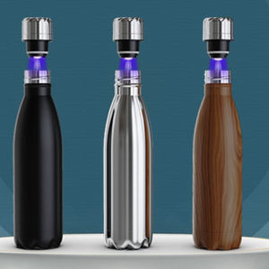 500ml Factory Stainless Steel Uv Water Purifier Lid Uv Light Self Cleaning Insulated Smart Vacuum Water Bottle Sports Bottle
