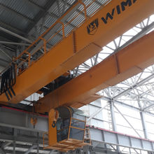 Double Girder Grab bridge crane for lifting scrap in steel mill factory $99,999.00-$250,000.00 / Set