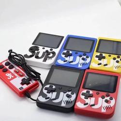 SUP colors Game Box Handheld 400 in 1 Children Game Console Gifts for kids Mini Game Single and Double Player