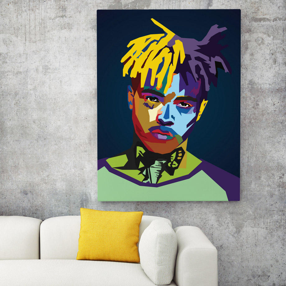 Living Room Decor Lil Peep Tyler XXXTentacion Rapper Star Nordic Wall Pictures Fashion Bedroom Paintings Pop Wall Art