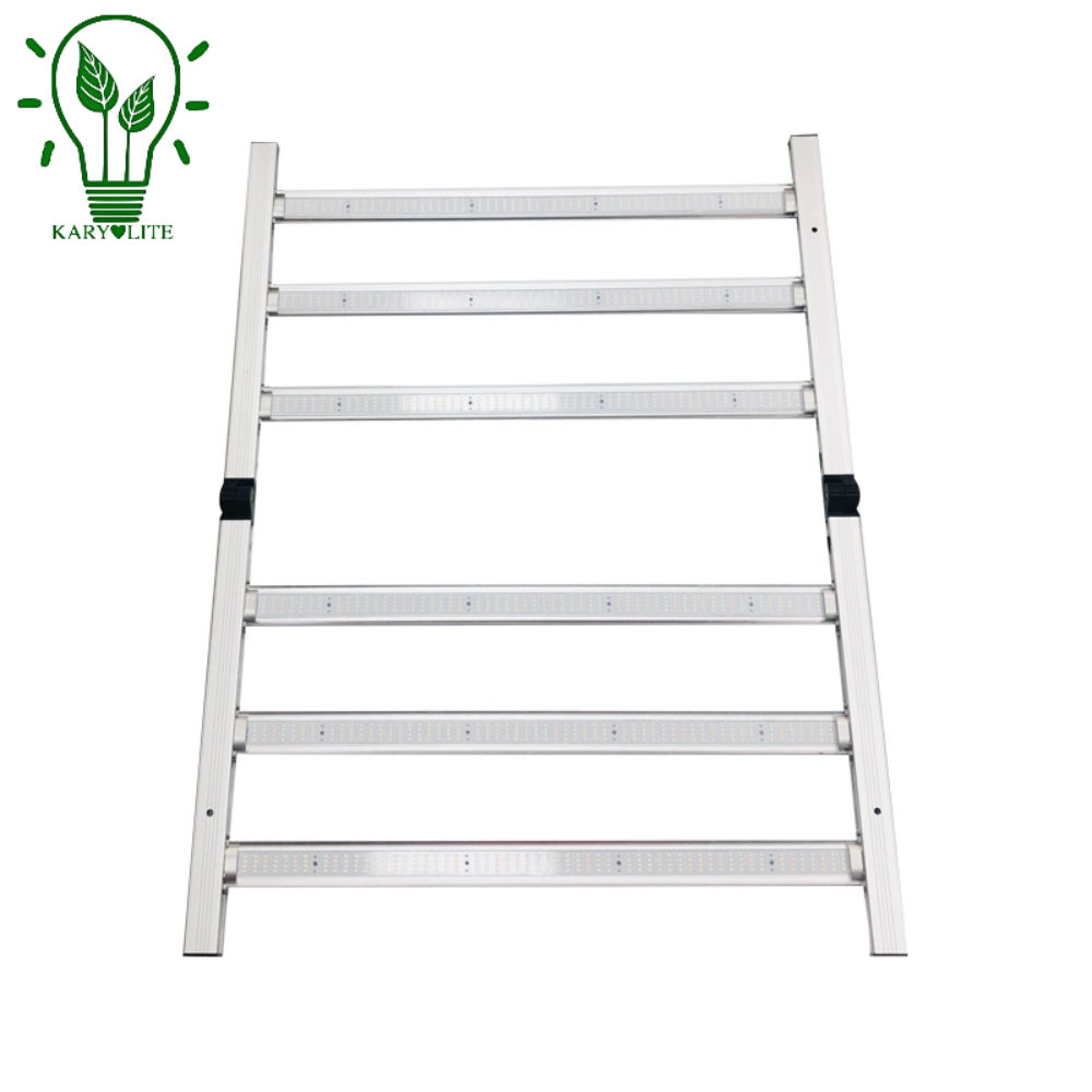 600W Full spectrum 6 bars IP65 Osrams 660nm red samsung folding led grow bar for medical planting