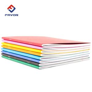school 1$ staple stationary soft cover a6 kraft note book